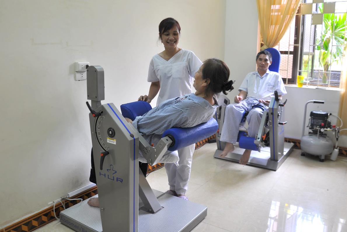 Trường Cao đẳng Y Dược Sài Gòn tuyển sinh ngành Kỹ thuật phục hồi chức năng