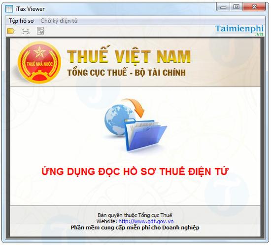 phần mềm đọc file xml
