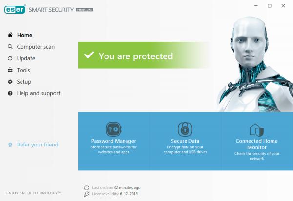Tìm hiểu thông tin về phần mềm diệt virus ESET