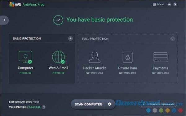 phần mềm diệt virus miễn phí tốt nhất 2019