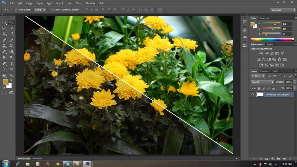Hướng dẫn sử dụng phần mềm photoshop cs6 đơn giản nhất