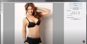 Bóp eo trong photoshop với các thao tác đơn giản