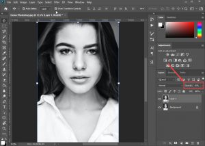 bóp mặt trong photoshop