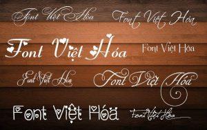 Thêm font chữ Tiếng Việt dễ dàng
