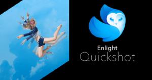 Quickshot app chỉnh màu bầu trời