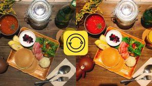 Foodie app chỉnh màu đồ ăn cho team sống ảo